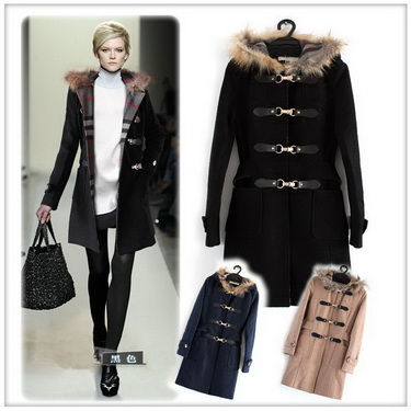 购买 Burberry women coat