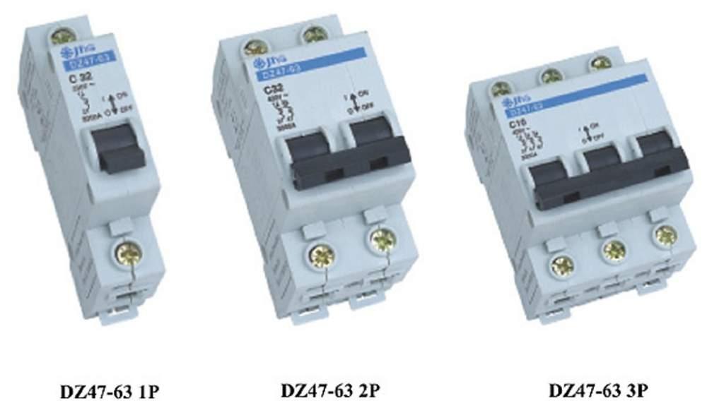 精益dz47-63断路器接线图