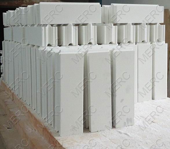 Buy Fused Silica Brick For Coke Oven Hot Reractory Repairs(with Groove And Tongue)