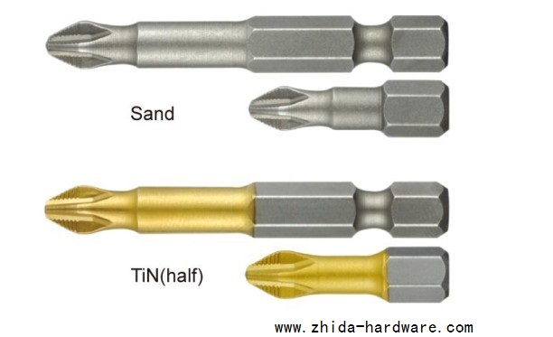 Buy TIN Screwdriver Bit,Anti Slip Screwdriver Bit