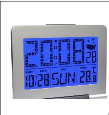 RADIO CONTROLLED CLOCK >> JS2599RC-W