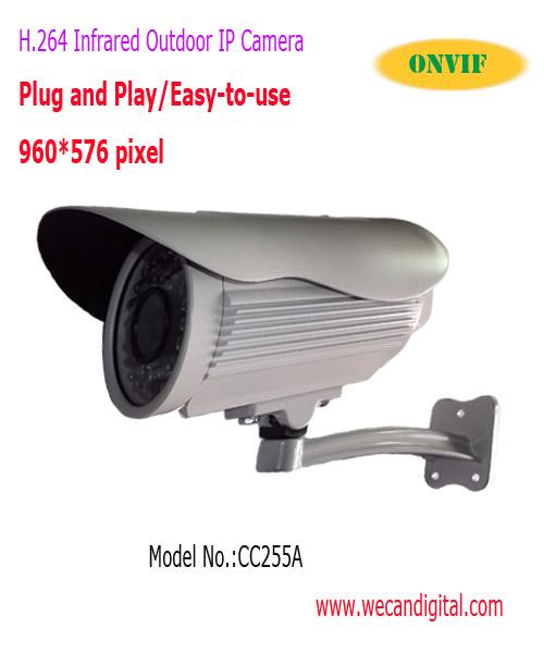 Buy H.264 650TVL CCD Outdoor Infrared IP Camera