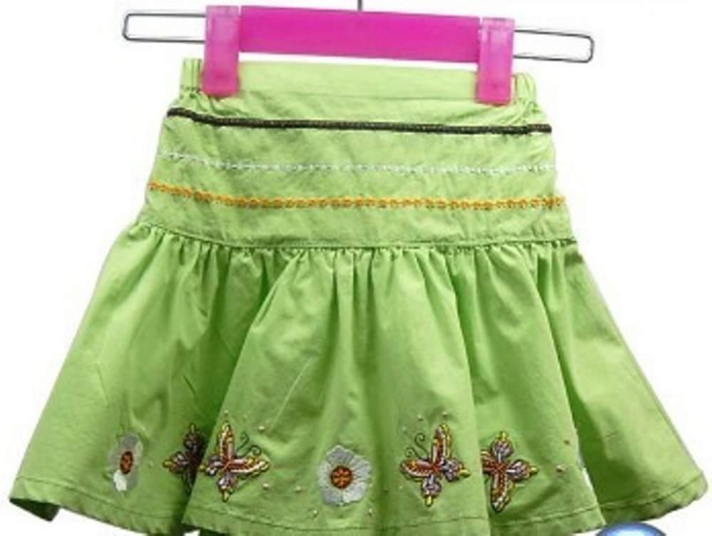 (有图解) 毛线编织儿童裙子花样款式图解