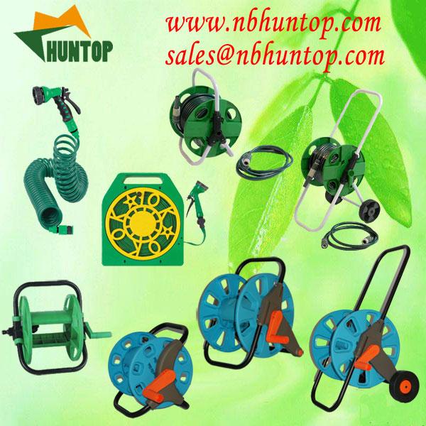 Buy Garden Hose Reel Cart Set HT1065