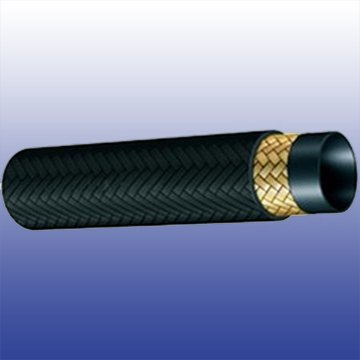 Covered Hydraulic Rubber Hose SAE 100 R5 Single Wire Braid Textile