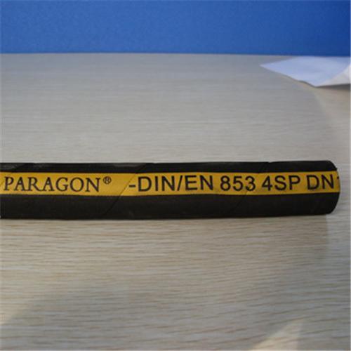 High Pressure Steel Wire Spiral Rubber Hose EN 856 4SP