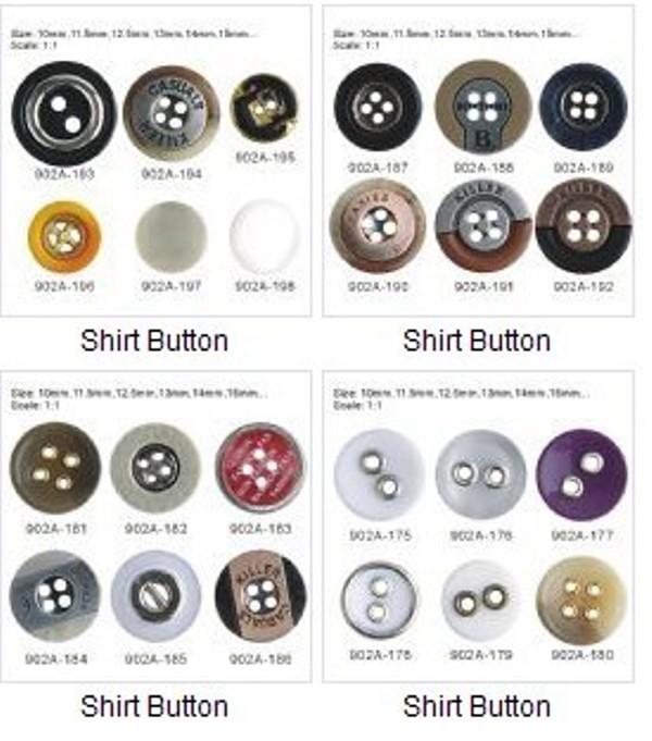 Buy 衬衫钮扣