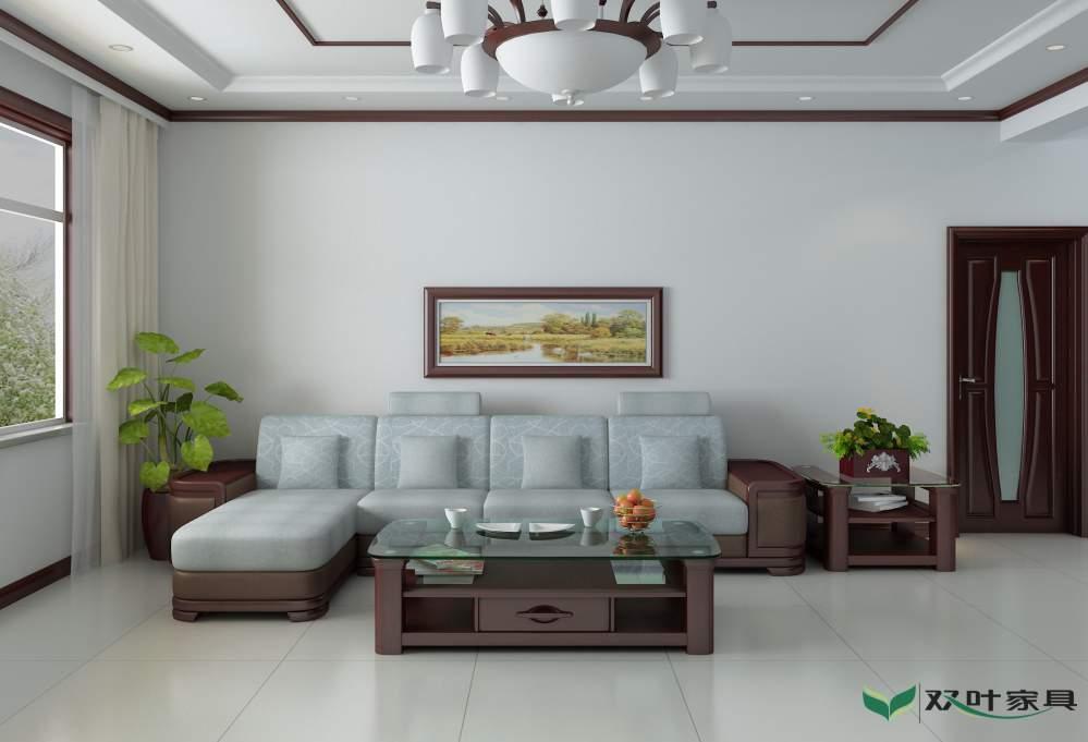 双叶实木家具图片大全 沙发