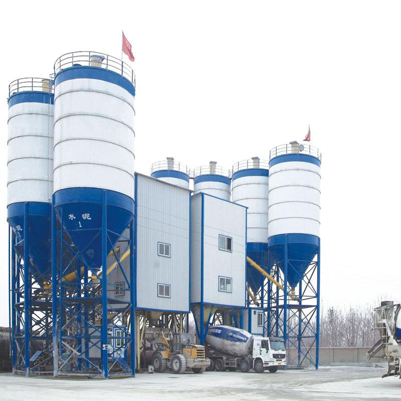 HZS150 concrete batching plant