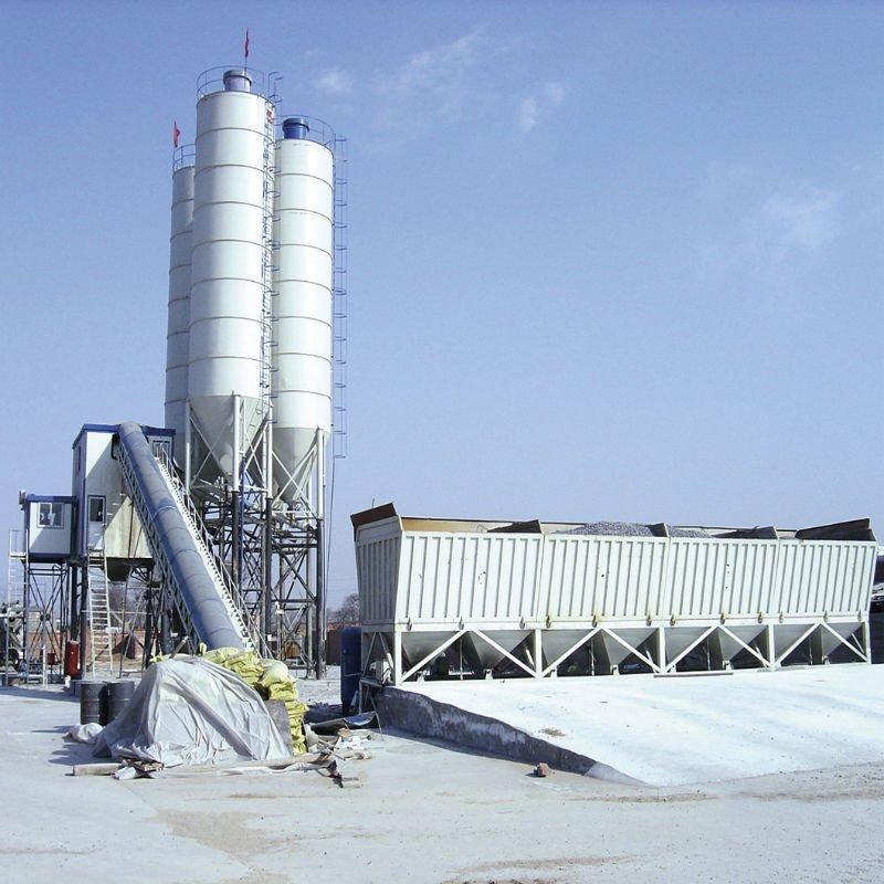 Buy HZS60 concrete batching plant