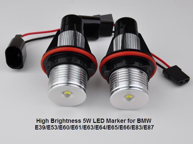 Buy 5W LED Marker E39 Angel eyes