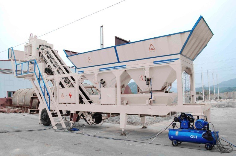 购买 HZSY25 Mobile concrete mixing plant