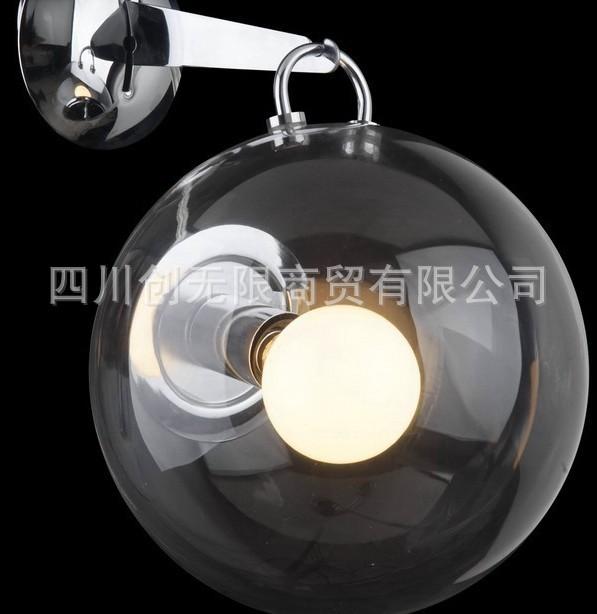 购买 现代玻璃壁灯