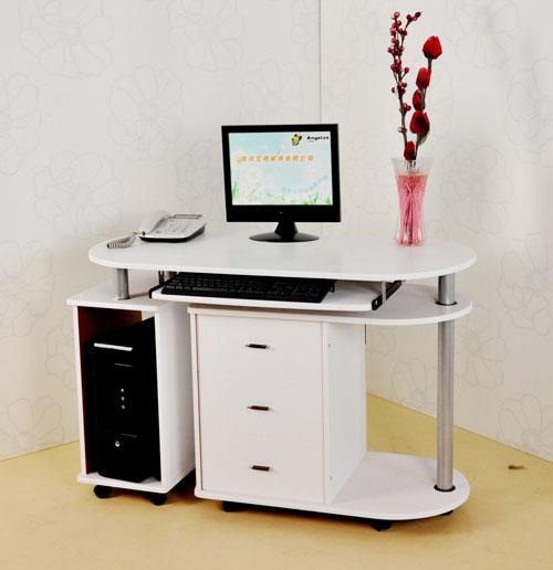钢木电脑桌