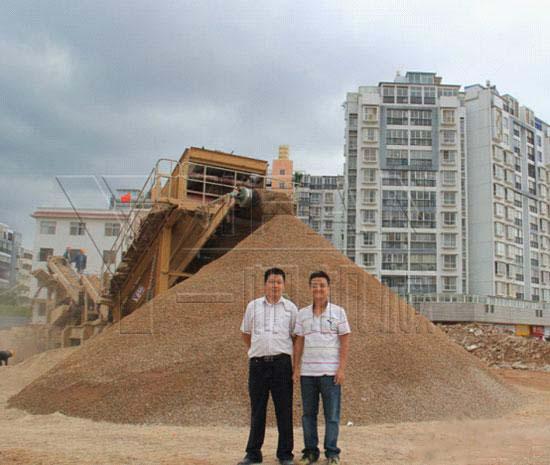 YIFAN Construction Waste Disposal Equipment