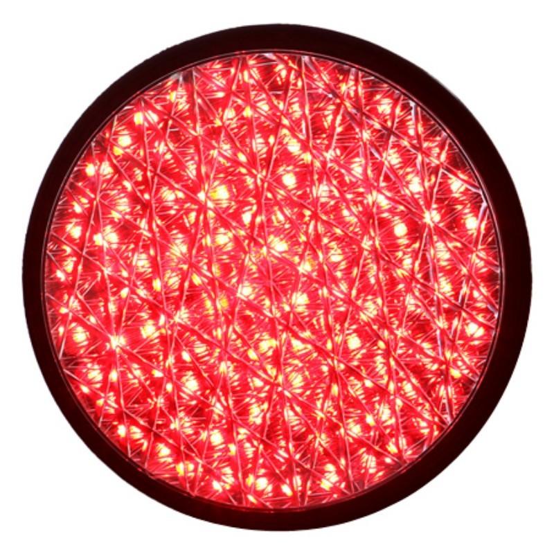 Buy 200mm Red Full Ball Traffic Lamp with Cobweb Lens