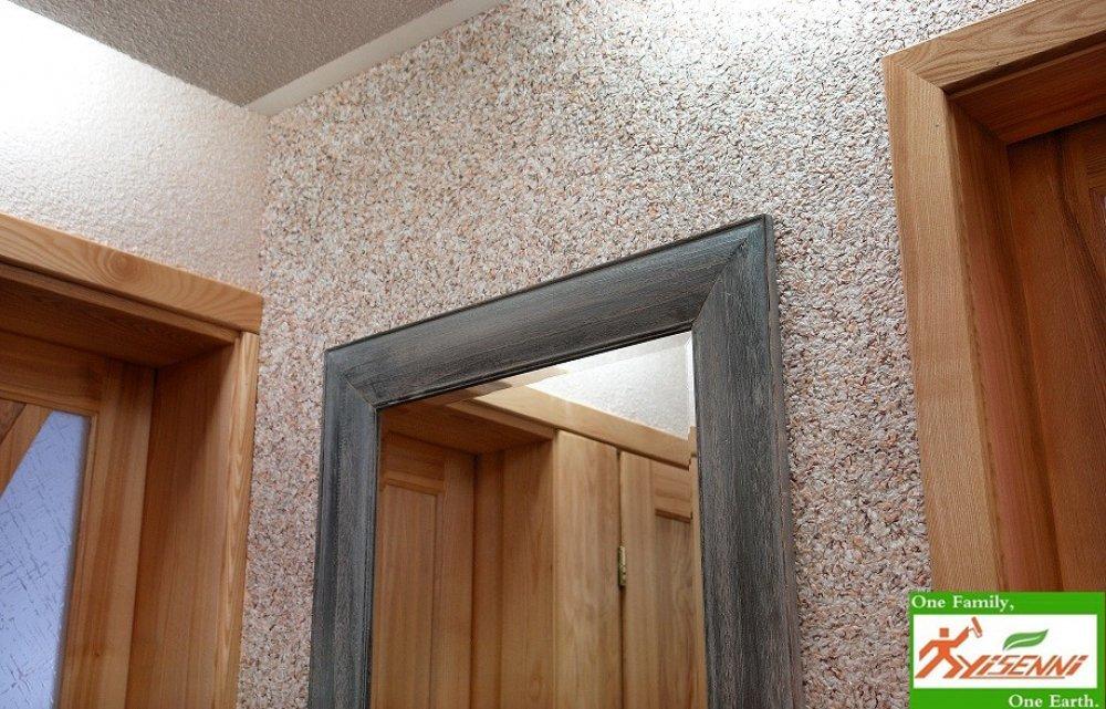 ECO decoration material –YISENNI. Wall coating.