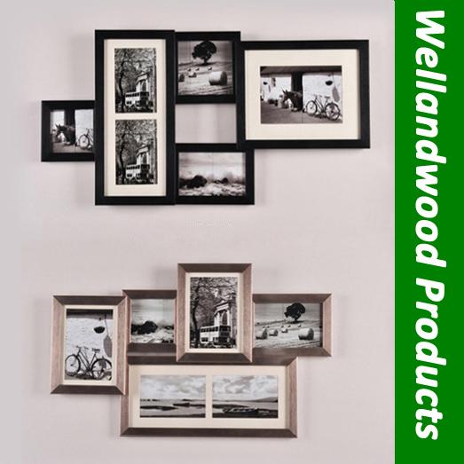 Wall mount photo shelves
