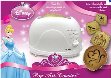 Buy 2012 Best design hot sell Logo Toaster CT-819G for Christmas promotion