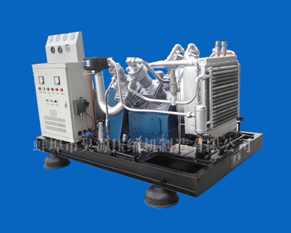 多级活塞式空气压缩机结构图