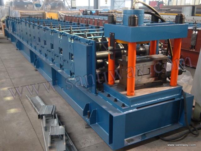 Buy C/Z/U shape metal purlin roll forming machine