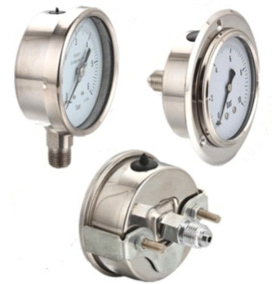 Buy All Stainless Steel Pressure Gauge