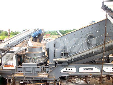 Buy Joyal Mobile Cone Crushing Plant Y3S1548Y900