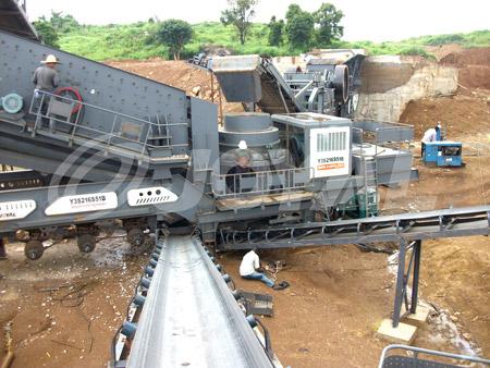 Joyal Mobile Cone Crushing Plant Y3S1860S51