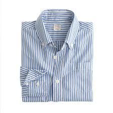 购买 Stripe Washed Shirts
