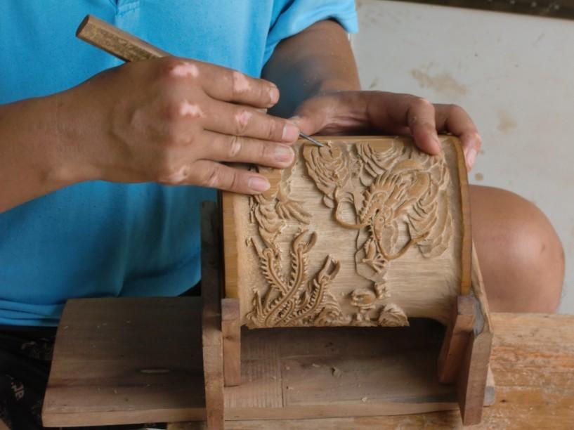 木头工艺品图片欣赏 木头工艺品怎么加工