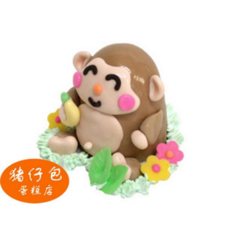 购买开心猴-动物猴生肖忌廉生日蛋糕创意蛋糕-广东店