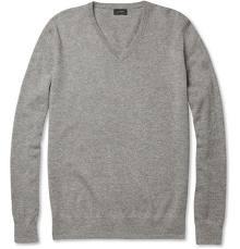 购买 V Neck Cashmere Sweater