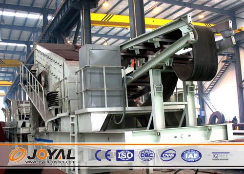 Buy Joyal Mobile Impact Crushing Plant Y3S1548F1010