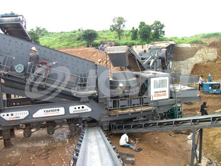 Buy Joyal Mobile Cone Crushing Plant Y3S2160H220