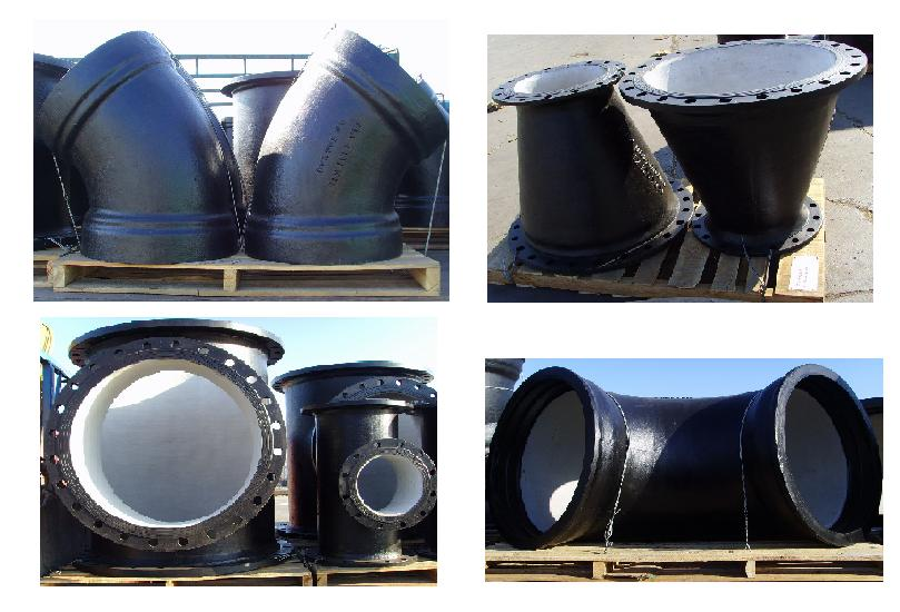 Buy Ductile Iron Pipe Fitting ISO2531/EN545