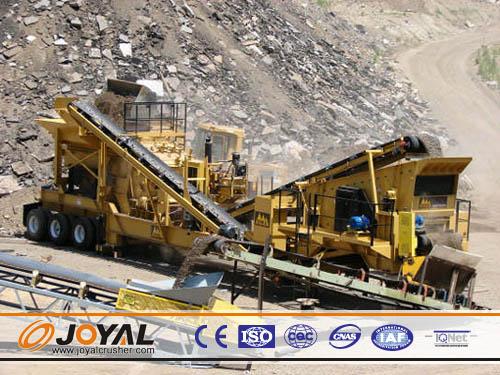 Buy Joyal Mobile Impact Crushing Plant Y3S2160F1315