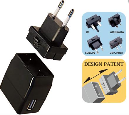 购买 Universal switching adaptors with interchangeable AC plugs (up to 5w)