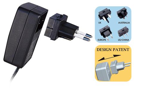 购买 Universal switching adaptors with Interchangeable AC plugs (up to 6W)