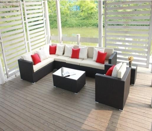 Buy Outdoor furniture/garden furniture/rattan furniture corner sofa