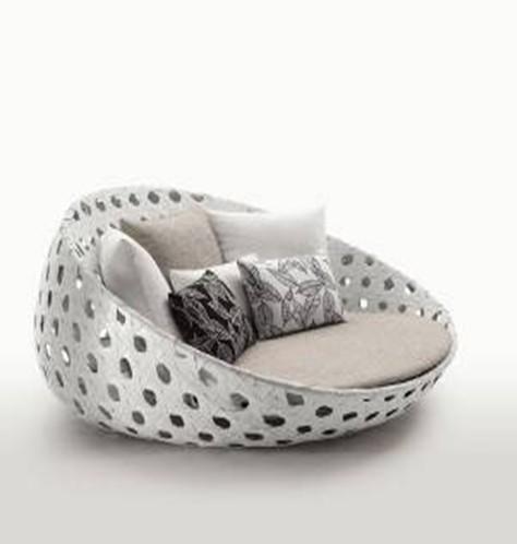 Buy Leisure furniture/outdoor furniture--rattan sun bed