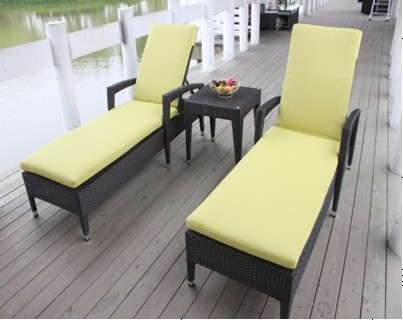 Buy Outdoor furniture--rattan loungers chair