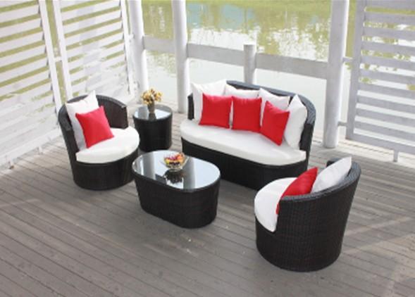 Buy Outdoorfurniture/garden furniture--rattan sofa set