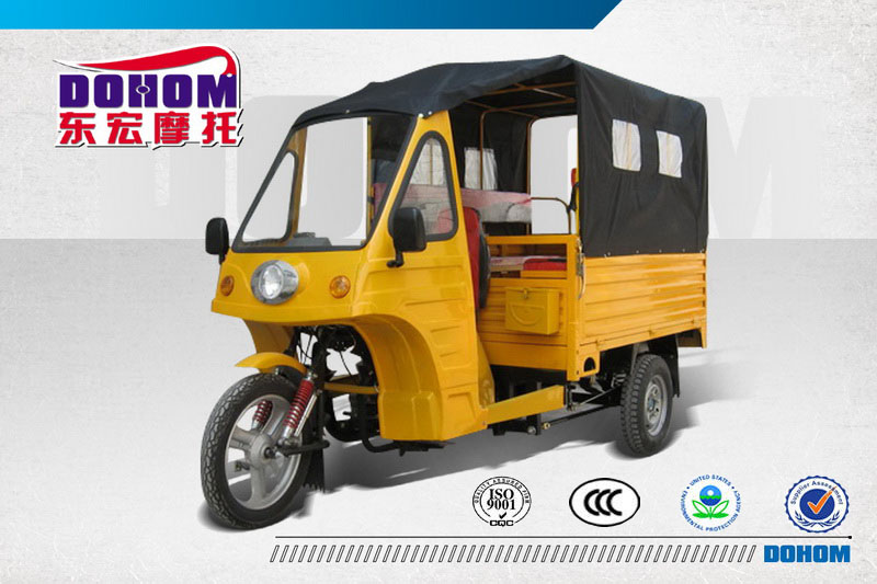 Buy 200cc semi-cabin tricycle for cargo