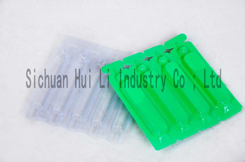 PVC/LDPE film for liquid packaging
