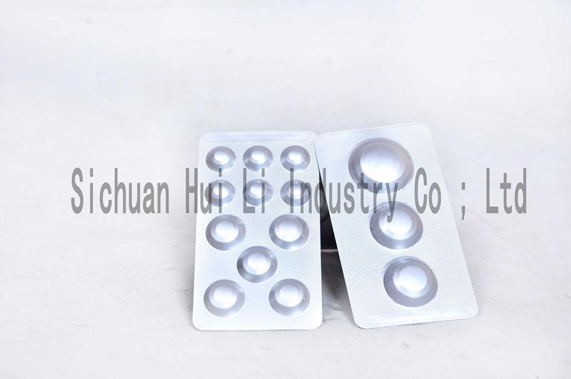 Cold form alu alu foil for pharmacy packaging