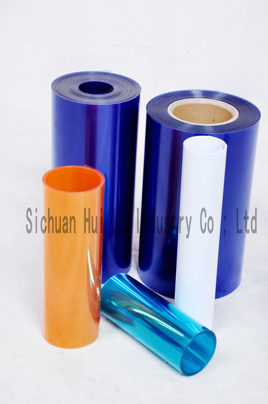 PVDC coated PVC film for packaging