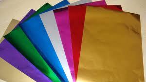 Paper laminated foil