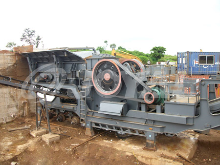 Buy Joyal Mobile Jaw Crushing Plant YG1349E912