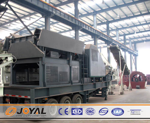 Buy Joyal Mobile Jaw Crushing Plant