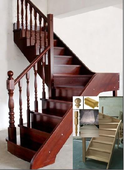 Sell Solid Wood Stair Treads Edge Glued Panels, Soild Wood Flooring, Solid  Wood Doors